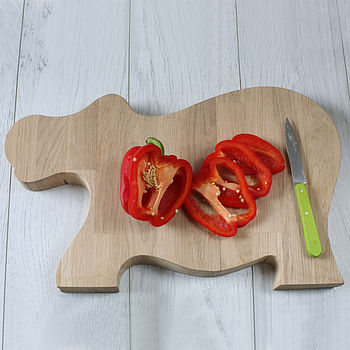 Handmade Hippo Chopping Board
