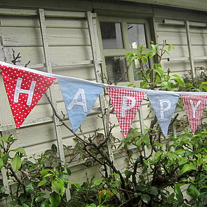 Happy Birthday Bunting - home accessories