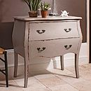 Taupe French Style Chest Of Drawers