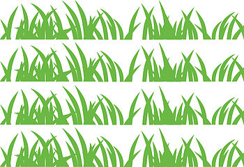 Set Of Grass Wall Sticker