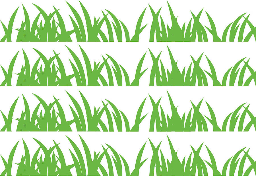 grass wall stickersparkins interiors | notonthehighstreet
