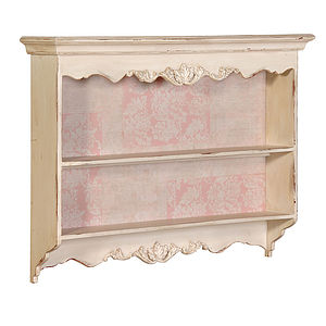 Carved French Kitchen Wall Shelf - storage & organising