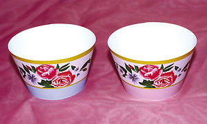 China Rose Cupcake Wrappers - kitchen accessories