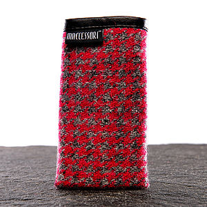 Harris Tweed Sock For IPhone - phone & tablet covers & cases