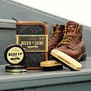 Retro Gent's 'Buff & Shine' Shoe Polish Kit