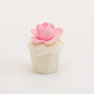 English Rose Mini Bath Cupcake