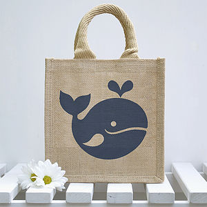 Little Whale Lunch Bag - garden sale