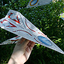 Personalised Paper Plane Kit Classic Fighter
