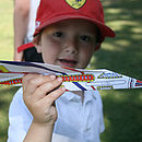 Personalised Paper Plane Kit Supersonic