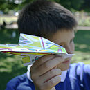 Personalised Paper Plane Kit Stealth
