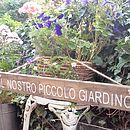 Personalised Wood French Garden Sign