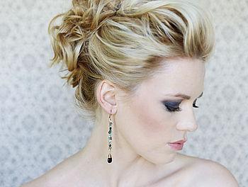 Long Gemstone Earrings
