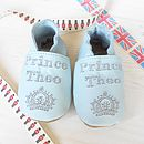 Personalised Royal Baby Inspired Prince Shoes