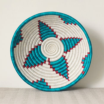 River Woven Fruit Basket