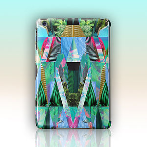Lush Jungle Design 'Amron' For iPad By Kei Maye Case
