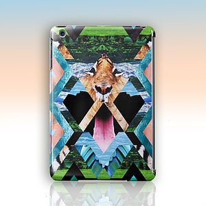 Wild Cat 'Aysha' By Kei Maye Case For iPad Mini, Air - women's accessories