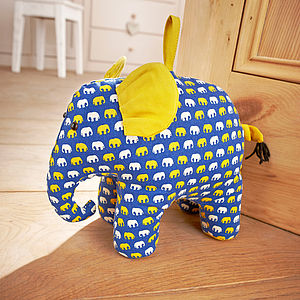 Elephant Door Stop - winter sale