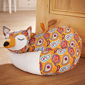 Fox Door Stop - dining room
