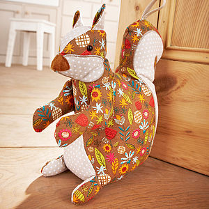 Squirrel Door Stop - children's room