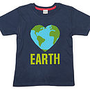 Love Earth Kids T Shirt