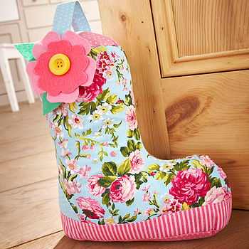 Wellie Boot Door Stop Theme