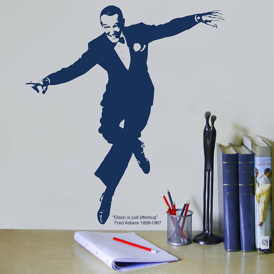 original fred astaire wall sticker - Fred Astaire Wall Dance