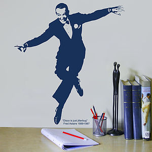 Fred Astaire Wall Sticker - office & study