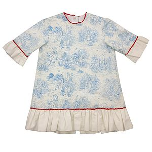 Peter Rabbit Dress Long Sleeves