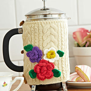 Knitted Cafetiere Cosies - cafetieres & coffee pots