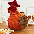 Chicken Knitted Tea Cosy Theme