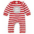 New Edition Baby Playsuit With Optional Giftset