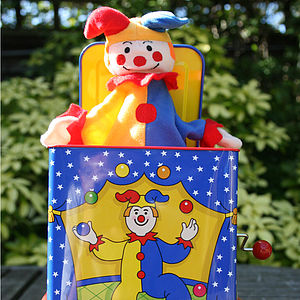 Jester Jack in the Box - stationery & creative activities