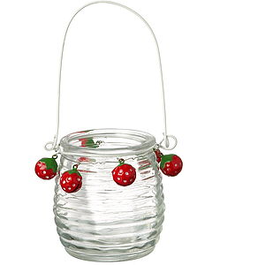 Glass Tea Light Holder - lights & lanterns