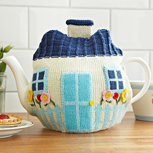 Cottage Knitted Tea Cosy - kitchen