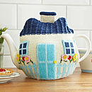Cottage Knitted Tea Cosy Theme