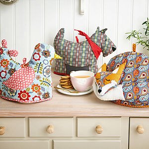 Animal Shaped Tea Cosies - kitchen accessories