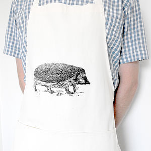 Adult Hedgehog Apron