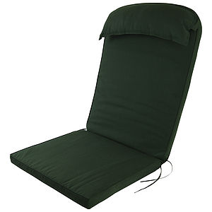 Adirondack Chair Luxury High Back Cushion