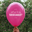 'I'll Buy You A Dress' Bridesmaids Card