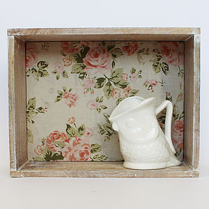 Vintage Display Box Shelf - shelves