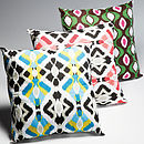 Thumb aztec cushion