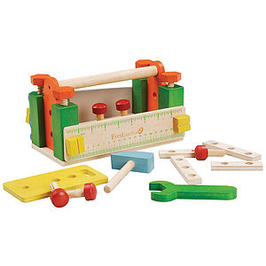 Toolbox Workbench - wooden toys
