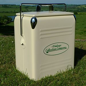 Retro Cooler Box - picnics & barbecues