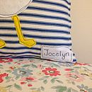 Cornish Fishing Boat Cushion