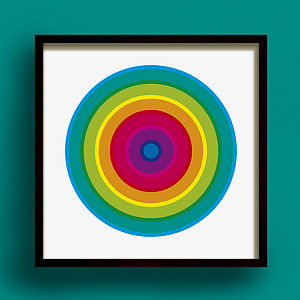 Hoopla Print - modern & abstract