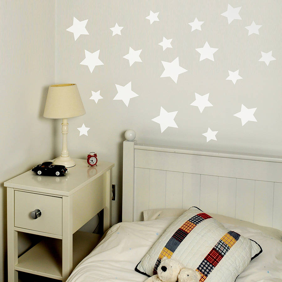 Stars stickers for walls gallery home wall decoration ideas star wall stickers gallery home wall decoration ideas star set wall sticker by leonora hammond notonthehighstreet amipublicfo Gallery