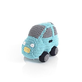 Cotton Crochet Car Rattle