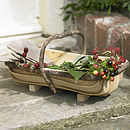 Birchwood Kindling Trug