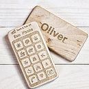 Personalised Eco Phone Toy