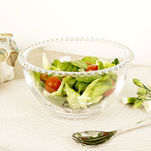 Limited Edition Cote Table Beaded Salad Bowl